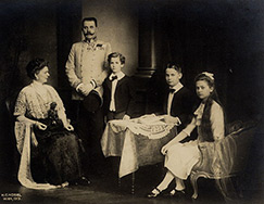 Franz Ferdinand and family